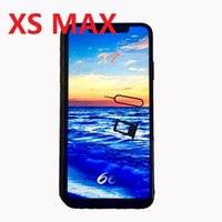 Wholesale micro video screen resale online - DHL freeshiping MAX inch android Quad Core GB RAM GB ROM MTK6580 G WCDMA Dual Nano Sim Card Smartphone