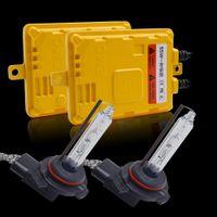 Wholesale hid 12v headlamps for sale - Group buy Xenon Slim Ballast Kit V W HID Xenon Conversion Kit Fast Bright HIR2 K K HID for car headlamp