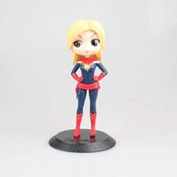 ingrosso grande bambola nera-Funko pop Action Figures Marvel Big Eye Doll Series Black Widow / Surprise Captain Marvel Hand Model Mengniang Standard and Doll Machine