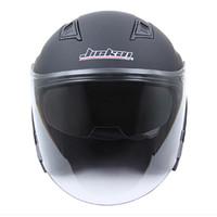 cascos para moto оптовых-Многоцветный JIEKAI шлем мотоцикл с открытым лицом Capacete мотоциклетный шлем Motocicleta Cascos Para Moto Racing мотоцикл старинные шлемы