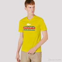 polo weißer streifen großhandel-Brand Fashion Luxury Designer Classic Herren Bee Stripe T-Shirt Baumwolle Herren Designer T-Shirt Weiß Schwarz Designer Polo Shirt Men #