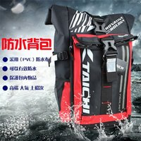 Wholesale cross night light resale online - The new cross country motorcycle rider riding kit is waterproof racing kit RSB272 with LED cold light at night backpack for day and night