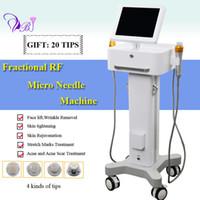 máquina de belleza de estiramiento facial microcorriente al por mayor-Equipo de Thermage para la venta Sistema de enfermería de piel microneedle Microcurrent Lifting facial Máquina de belleza Sistema de RF fraccional
