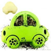 kleiner kuchen grün großhandel-Großhandel 2016 Fondant Formen Cupcake Fondant Kuchen Dekorieren Tools Sandwich Cutter Grün Auto Form Kuchen Brot Toast Form Maker