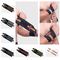 Wholesale sport hand wrap for sale - Group buy Gym Hand Wraps Wrist Strap Weight Lifting Wrist Wraps Gloves Crossfit Dumbbell Powerlifting Wrist Support Sport Wristband Bracers ZZA937
