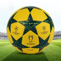 champion liga fußball bälle großhandel-Freundlich offizieller Fußball der Qualitätsmeister-Liga für Trainingsfußball-PU-Standardfußball der Spielfachmanngröße 5 geben Verschiffen frei