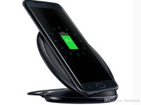 Wholesale best qi chargers for sale – best Universal s7 Qi Wireless Charger holder Fast Charging Wireless Charger dock for samsung S8 S9 s10 plus iphone x best price
