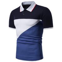 ingrosso camicie espresse casual-New POLO shirt Casual manica corta bavero POLO camicia commercio estero DESIDERIO Amazon Express