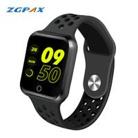 ingrosso telefono dell'orologio di zgpax android-ZGPAX S226 Smart Watch Uomo Donna Sport Modalità Vita Impermeabile Monitoraggio della frequenza cardiaca Pressione arteriosa Smartwatch per IOS Android Phone