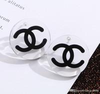 Wholesale oversize jewelry for sale - Group buy Luxury Letter Earrings New Fashion Jewelry Women Earrings Oversize Elegant Earrings for Gift