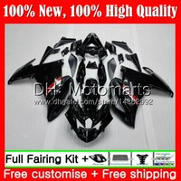 Wholesale black fz6r fairing resale online - Body For YAMAHA FZ6N FZ6 R FZ6R MT6 Glossy black FZ R FZ R Fairing Bodywork
