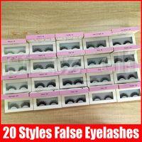 Wholesale eye makeup models for sale - Group buy False Eyelashes model Eyelash Extensions handmade Fake Lashes Voluminous Fake Eyelashes For Eye Lashes Makeup