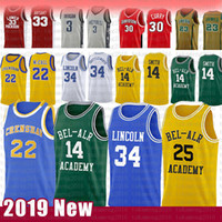 prinz trikot groihandel-Fresh Prince Will Smith Carlton Banks Basketball Jersey Jesus Shuttles-Wert von Ray Allen Lincoln Liebe Film McCall james NCAA lebron Curry
