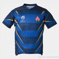 ternos do japão venda por atacado-2019 Japão Rugby Jersey World Cup Formação Terno 19 20 Sul Africano Rugby Jersey World Cup Jogador Uniforme Da Equipe Top Grátis grátis