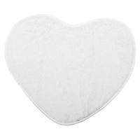 chicas de la alfombra al por mayor-Moda Moderna Decorativa Shaggy Corazón Suave Alfombra de piel sintética Piel de Oveja Dormitorio Niños Niñas Estera blanca