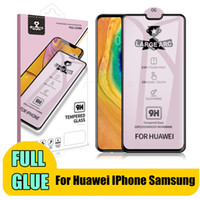 Wholesale huawei mate 10 pro screen protector for sale – best Tempered Glass For Huawei P30 P20 Lite P20 Pro P Smart Protective Glass Full Glue For Huawei Mate Lite Screen Protector
