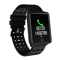 Wholesale big screen phones for for sale – best Smart Bracelet Big Color screen IP67 Sport Fitness Tracker Blood Pressure Heart Rate Monitor Smart Band for Android Xiaomi Phone