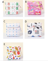 Wholesale sanitary bags for sale - Group buy Sanitary Bag Cute Cartoon Cotton Fabric Napkin Storage bag Large Capacity Women Sanitary Storage Bag Credit Card Organizer