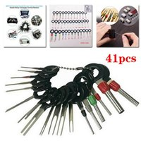 Wholesale terminal wires for sale - Group buy 41Pcs Car Terminal Removal Electrical Wiring Crimp Connector Pin Extractor Kit Automobiles Terminal Car Repair Hand Tools