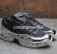yeni kat ayakkabıları toptan satış-2019 yeni moda ittifak Ozweego kaplı rahat ayakkabılar yansıtıcı rugan Raf mens ve rahat ayakkabılar RT6 womens