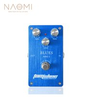 Wholesale multi effects pedal for guitar resale online - NAOMI Effect Pedal Aroma ABS Blues Distortion Guitar Pedal Aluminum Alloy True Bypass Guitar Parts Accessories New