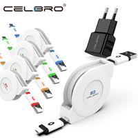 carregamento de iphone 3m venda por atacado-1M / 2M / 3M retrátil Micro USB Charger Cable Para Xiaomi redmi Nota 5 Plus Nota 5 5A 6A S2 6 Pro microUSB carregamento Cord Long Short