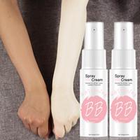 cuidado de belleza crema blanqueadora al por mayor-Spray BB Cream Concealer Brighten Blanqueamiento Hidratante Shaking Base Face Foundation Maquillaje Belleza Cuidado de la piel
