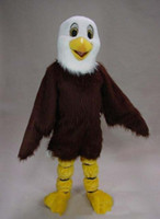 Promotion Quality Mascot Eagle Mascot Costume Adult Cartoon Character Outfit Suit Fancy Dress for Party Carnival