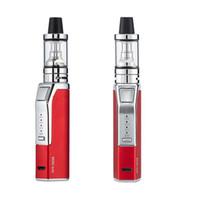 Wholesale e cig atomizer starter kit resale online - Top Quality Mini W Vape Mods Starter Kits mAh Battery Portable E Cig Vape Pen with ml Atomizer Tank DHL