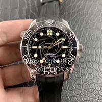 vs sırlar toptan satış-Erkekler VS Fabrikası Otomatik Cal.8800 Co Eksenel İzle Erkekler Dalgıç 300M Majestys Gizli Servis Saatler Okyanus 007 James Bond Kauçuk saatı