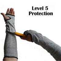 kolları kes toptan satış-Emniyet Anti-cut Kol Kol Guard Koruma Bilek Kol Armband Eldiven Çalışma Çalışma Alanı Emek Koruma 2 adet / çift CCA10935 50 pairs