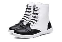 новые длинные туфли оптовых-Новый 2018 Мартин загрузки мужская высокая верхняя зимняя обувь с флис теплые кожаные сапоги мужские длинные сапоги