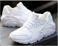 üstler için büyük kız toptan satış-En Kaliteli Hava Huarache Ayakkabı Unisex büyük Çocuk Erkek kız Erkek Tüm Siyah Hava Koşu Ayakkabıları Huaraches Rahat Sneakers Eğitmen Atletizm Ayakkabı