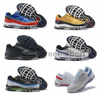zapatos para correr londres al por mayor-Nike Air Max 97 BW x Skepta Metallic Silver Violet running zapatos para hombres zapatillas de diseño 97S London Bronze des chaussures Schuhe zapatos talla 12