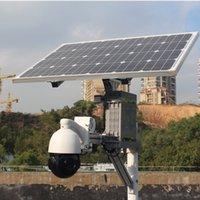ingrosso zoomare la telecamera cctv-Solar Power Wireless 3G 3G 4G telecamera di sicurezza ip ptz 18X Zoom ottico 1080P Sony Super Star Light CCTV esterna con batteria 32G 40AH Li