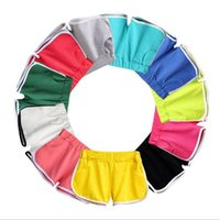 yoga schlüpfer groihandel-7 Farben Frauen-Sport-Shorts Sommer Gym Fitness Yoga Workout Ladies Beach Jogging Jogging Breath Heisse Höschen Kleidung