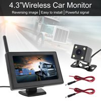 Wholesale wireless backup cameras for cars for sale - Group buy 4 Inch Wireless Car Backup Camera Rear View Camera System HD LCD Vehicle Rear View Monitor Waterproof Night Vision Camera for SUVCMO_52W