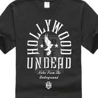 Wholesale arched top resale online - New Style Crew Neck T Shirts Hollywood Undead Men S Lifestyle Arch T Shirt Summer Style Fashion Hipster O Neck Cool Tops