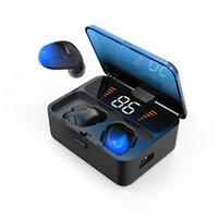 auriculares inalámbricos de oído invisible al por mayor-ES01 TWS Auriculares Inalámbricos Bluetooth 5.0 Mini In-ear Control Táctil Invisible Auriculares Bluetooth Auriculares Auriculares Estéreo con Caja de Cargador
