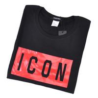 top camisa de algodón para hombre al por mayor-2019 la mejor calidad nuevo icono de Hip Hop camiseta unisex Camiseta de manga corta Tops de algodón camiseta poloshirt hombres teel hip 3g Diseñadores hombres mujeres camisetas