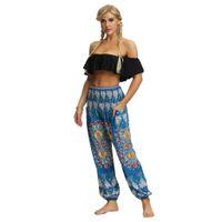 Wholesale aladdin silver resale online - SIHOWTIENDA Men Women Casual Loose Hippy Yoga Trousers Baggy Boho Aladdin Pants high waist gym leggings g30