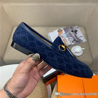 Wholesale dress shoes mens resale online - Classic casual shoes Exclusive limited series Frosted cowhide fabric Mens loafers with low leather heels and large soles with box