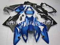 molde de carenado abs al por mayor-Cascos de carenado de nuevo estilo HP4 para BMW S1000RR 2009 2010 2011 2012 2013 2014 09-14 Carenados de moldes de inyección Plástico ABS Azul mate negro