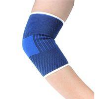 ingrosso badminton elbow pad-2 pezzi / lotto gomito supporto gomito per calcio basket badminton pastiglie sport protettore