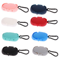 Wholesale gear cases for sale – best Silicone Bluetooth Wireless Earphone Case Storage Carrying For Samsung Gear Icon X Waterproof Shockproof Protector Shell With OPP Bag