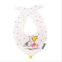 Wholesale baby bandana clothes resale online - Pineapple Boys Girls Bibs Soft Baby Feeding Apron Cute Tie Burp Cloths Newborn Bandana Children Bebe Clothing Accessories Bibs