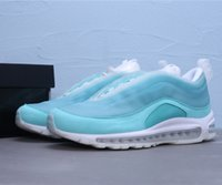 Wholesale new winter boots for boy resale online - 2019 new Shanghai Kaleidoscope SH designer shoes for men and women top quality Ice blue mesh fly running shoes sneakers with box