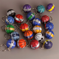 Wholesale sports car mobile phones for sale – best Fashion Sports Basketball Key Chain Leather Key Chain Bag and Mobile Phone Pendant Style High quality Fans Souvenirs