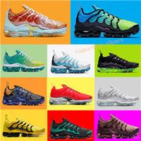 yeni ayakkabılar toptan satış-2019 Yeni TN Artı Avantgarde ABD Ahtapot Göl Yaz Sprite Sıvı 3 M Eğitmenler Spor Sneaker Erkek Kadın Tasarımcı Koşu Ayakkabıları Resmi Colol