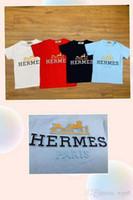 despacho de ropa al por mayor-2019 verano caliente nueva ropa de los niños coreanos lote directo de fábrica de algodón dulce color verano manga corta camiseta liquidación p